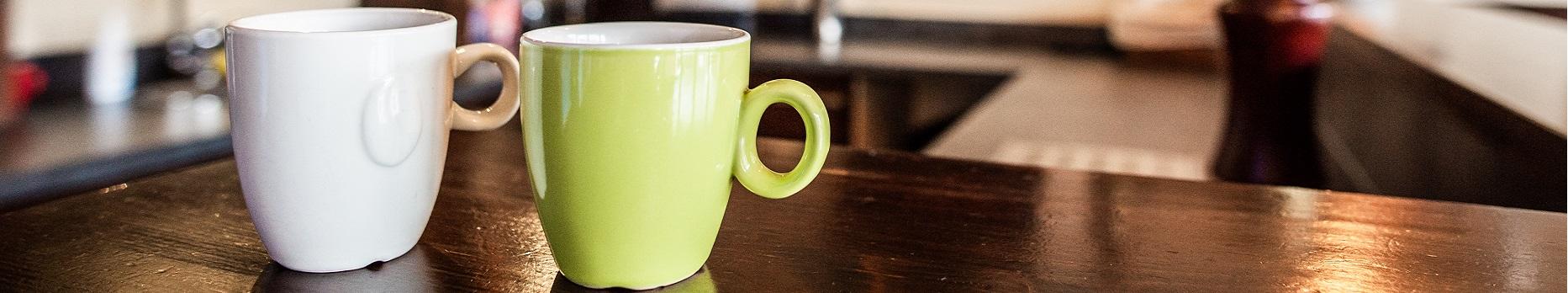 De koffie staat altijd voor u klaar!